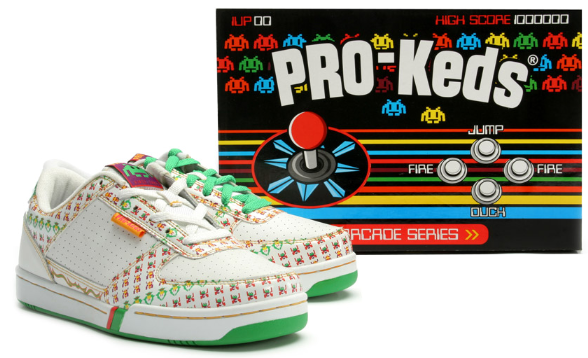 Arcade Heroes Pro Keds Releases Arcade Series of Shoes - Arcade Heroes