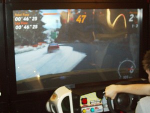 Sega Rally 3's Alpine circuit