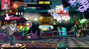 Astro Ranger combines music and fighter worlds into one game