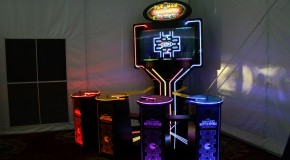 Seen at AAMA Gala 2011: Deadstorm Pirates Upright, Pac-Man Battle Royale Deluxe