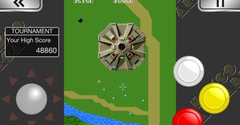 Namco's Virtual Arcade App for iOS