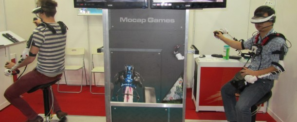 MoCap Game's Sci-Shoota VR Game In Action