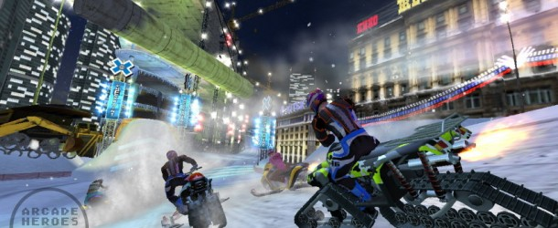 First Screenshots From Raw Thrills' Winter X Games SnoCross UPDATED