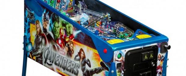 Stern Demonstrates Avengers LE Pinball