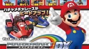 Namco Launches Mario Kart Arcade GP DX Japanese Version