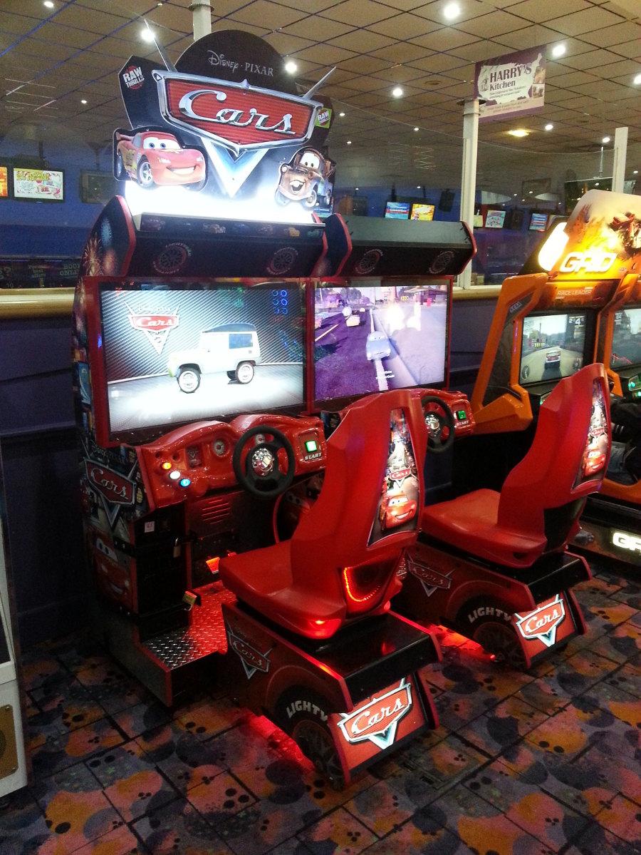 Namco Car Game