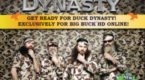 Duck Dynasty Enters Video Game Market Via Big Buck HD Arcade Machines This October