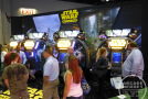 IAAPA 2014 Day 2: Star Wars Battle Pod, Showdown, Jurassic Park, Pump It Up PRIME 2015,Candy Crush Saga + More