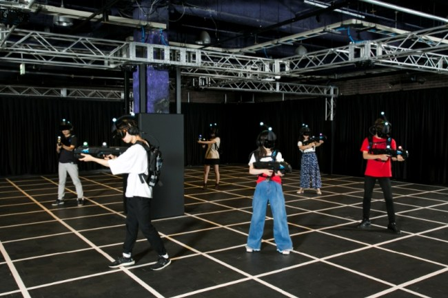 Arcade Heroes The Zero Latency Vr Arena Now Open At The