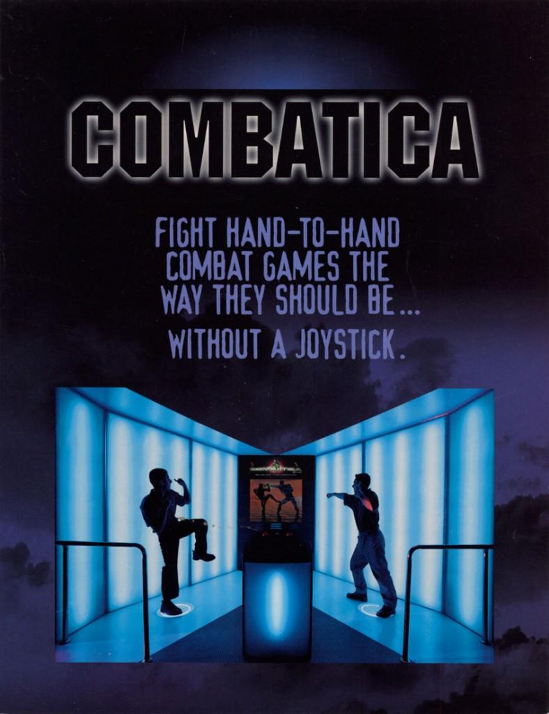 Combatica Gesture Sensing Arcade Game