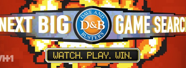 """Dave & Busters Launches A Search For """"The Next Big Game"""""""