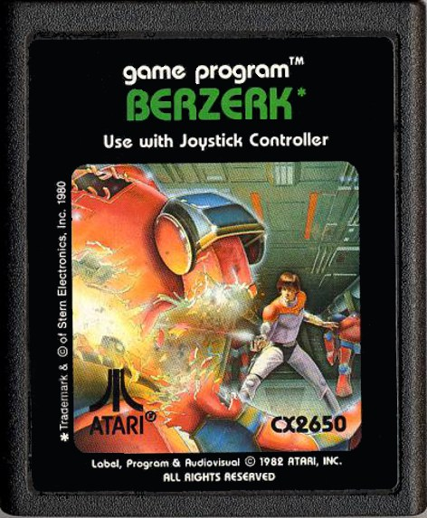 The art found on the Atari 2600 home port would have made for some awesome arcade sideart instead.