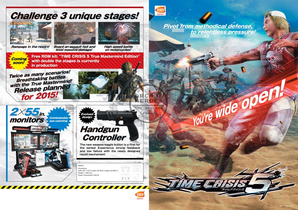 Time Crisis 5 Brochure A
