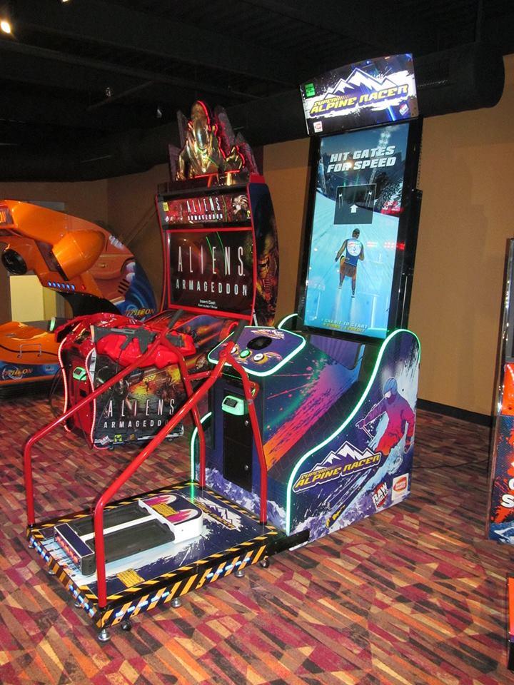 mocap boxing arcade game
