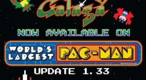 World's Largest Pac-Man Adds Galaga With New Update