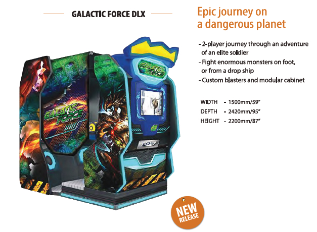 Galactic Force Arcade but UNIS