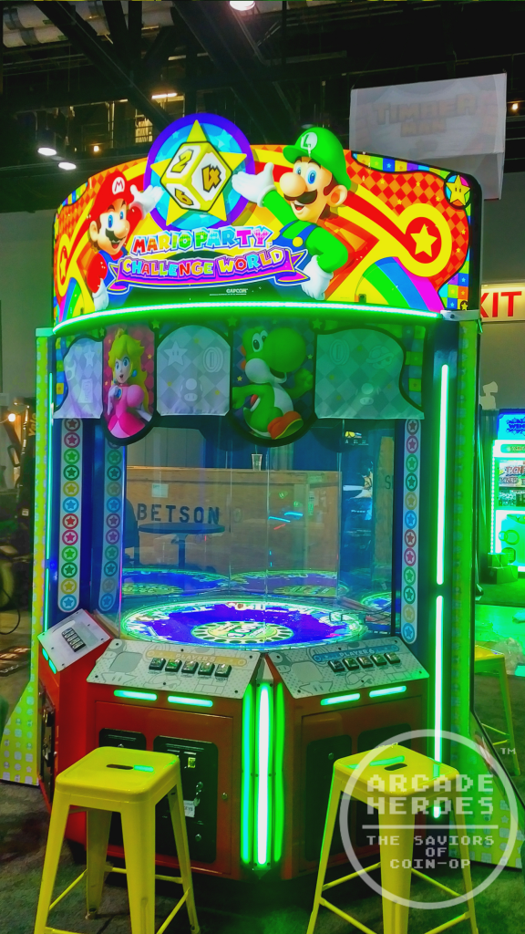 Mario Party Challenge World by Raw Thrills and Capcom