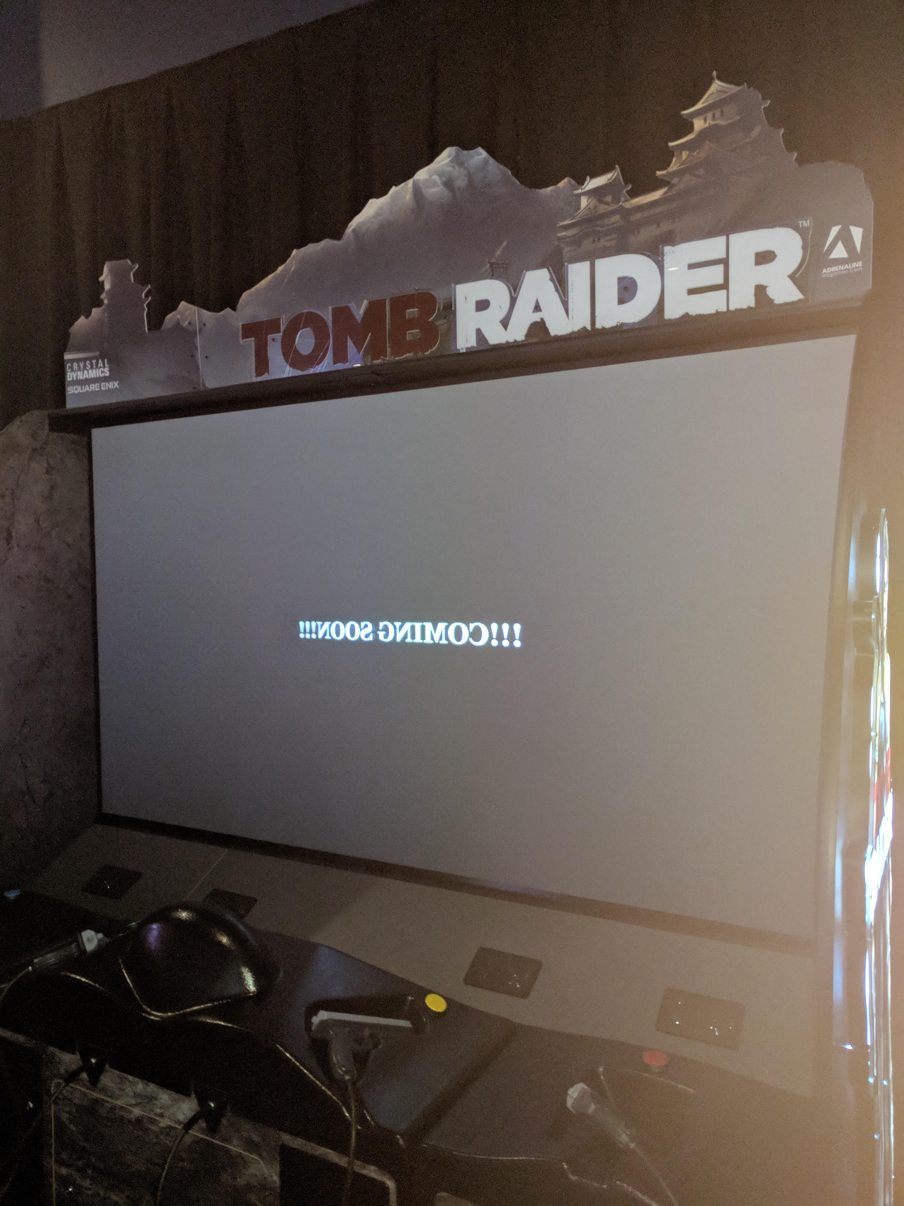 Tomb Raider Arcade Exclusive by Adrenaline Amusements and Dave & Busters