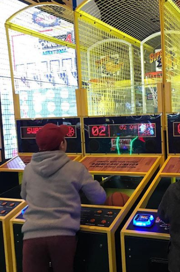 Connect 4 Basketball on test
