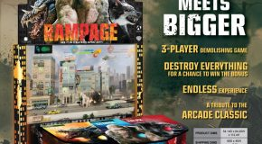 Adrenaline's Rampage Headed To The Wide Arcade Market In June