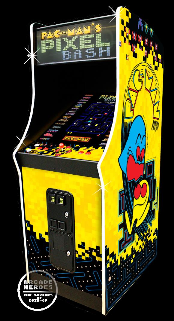 Pac-Man's Pixel Bash arcade machine by Bandai Namco Amusements