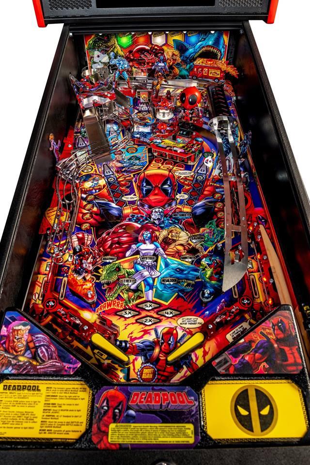 Deadpool Pro Model playfield