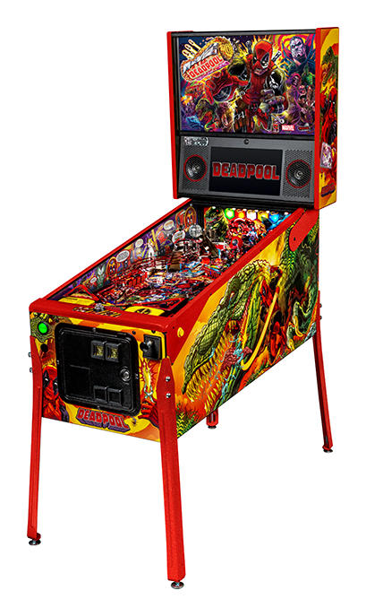 Deadpool pinball LE model by Stern Pinball