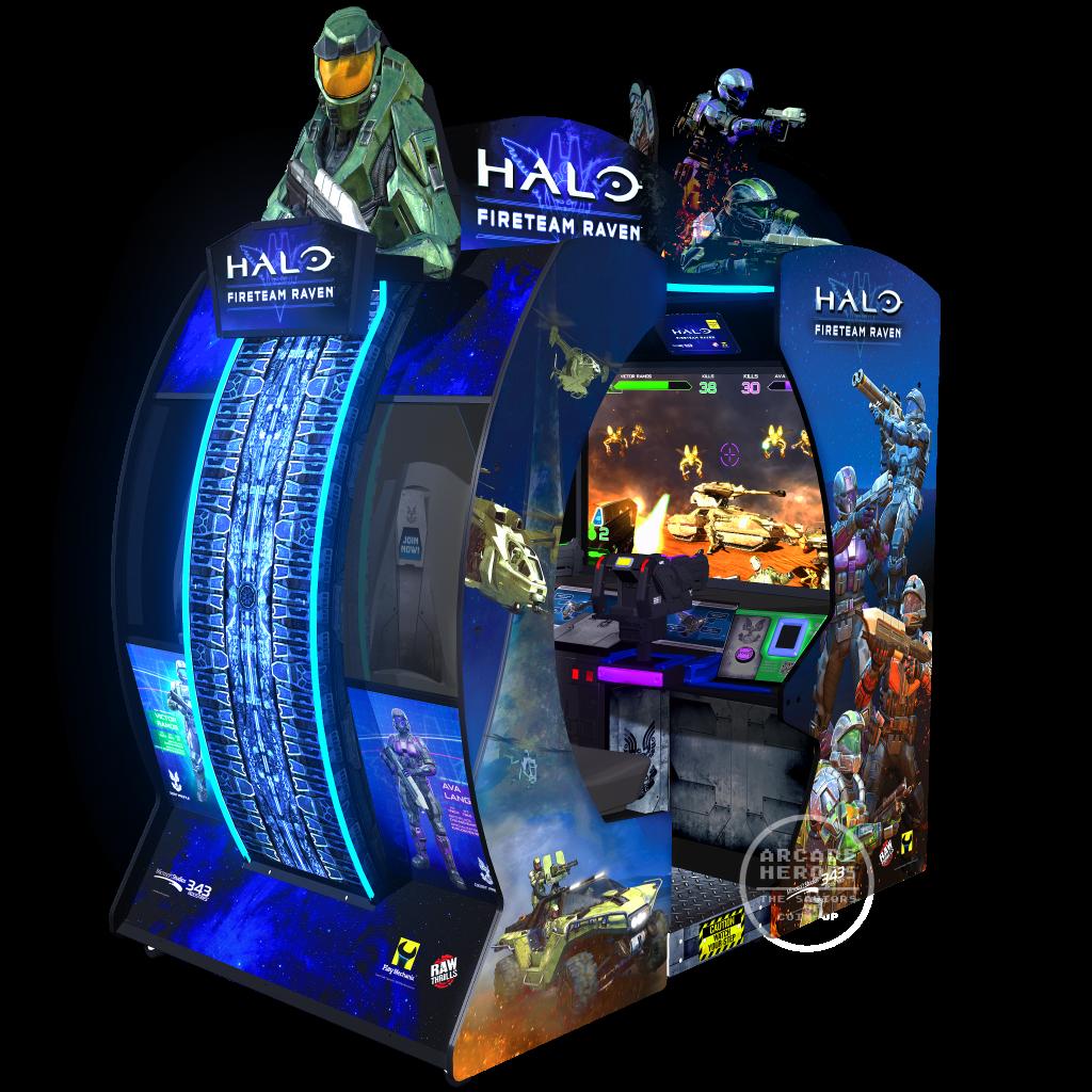 Halo: Fireteam Raven 2-player model by Microsoft/Play Mechanix/Raw Thrills