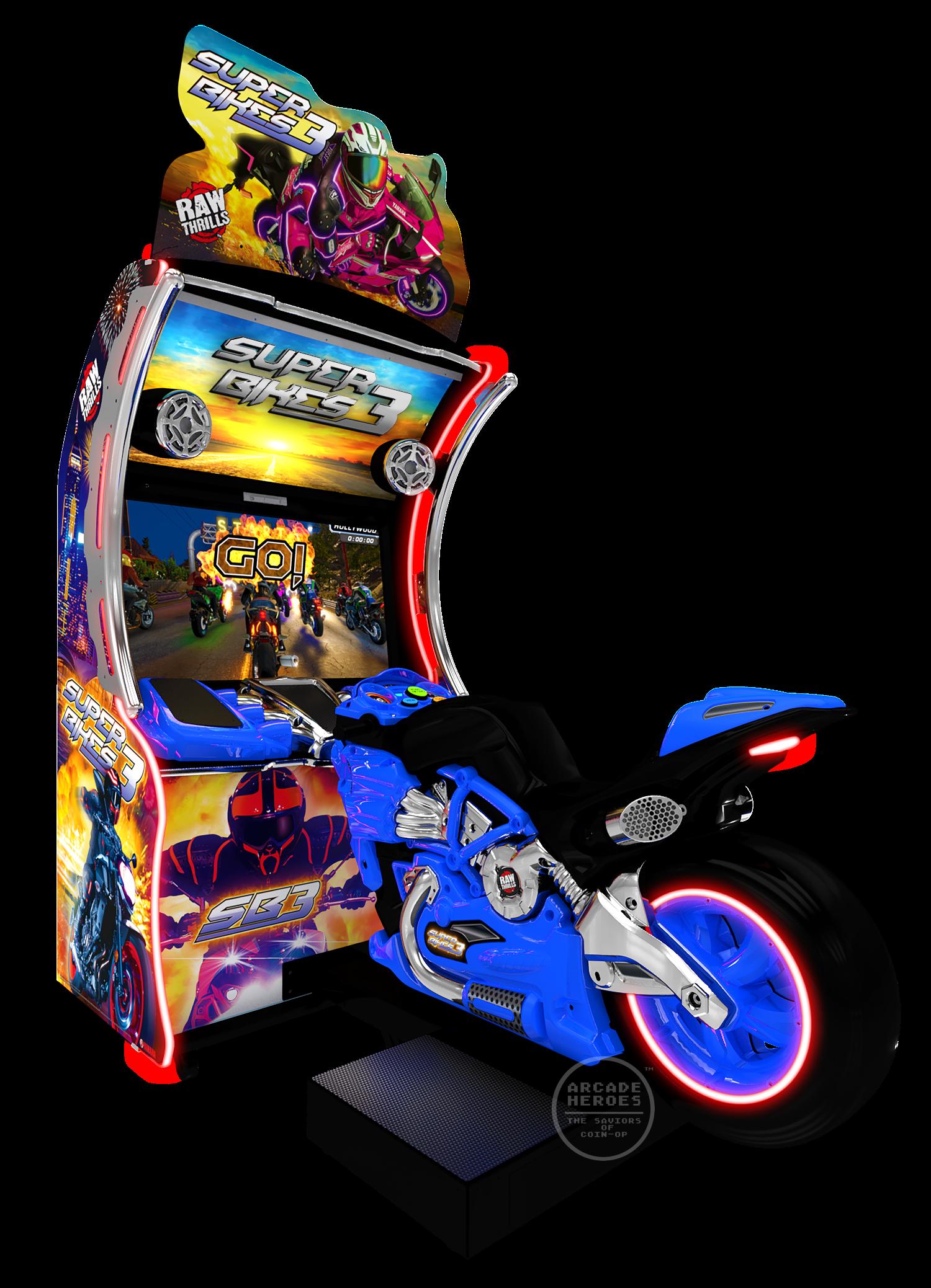 Super Bikes 3 by Raw Thrills